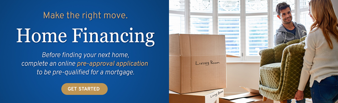 Get pre-qualified for a mortgage when you complete an online mortgage pre-approval application. Get started today.