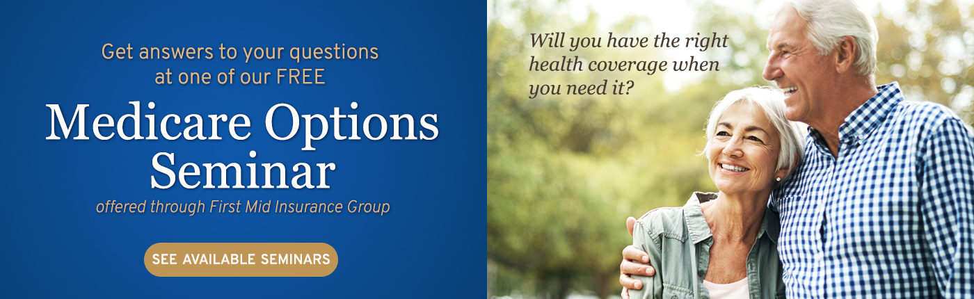 Sign up to attend a free Medicare Options Seminar and get answers to your Medicare questions.