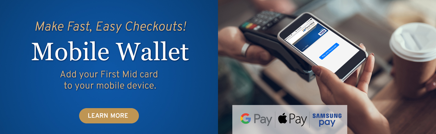 Make Fast, Easy Checkouts! Mobile Wallet