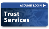 Trust Services Login Button