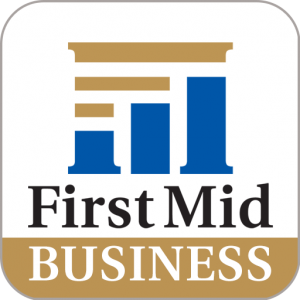 First Mid Business Mobile App Icon