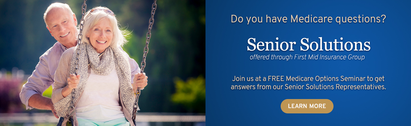 Do you have Medicare questions? Get answers from our Senior Solutions Representatives.